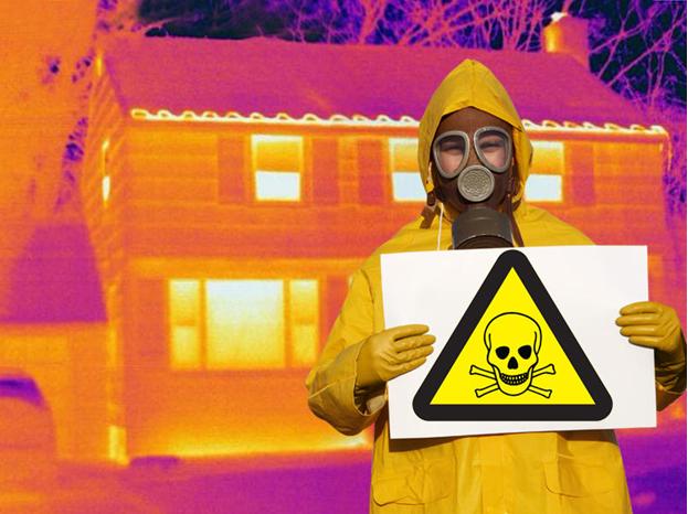 casas radioactivas